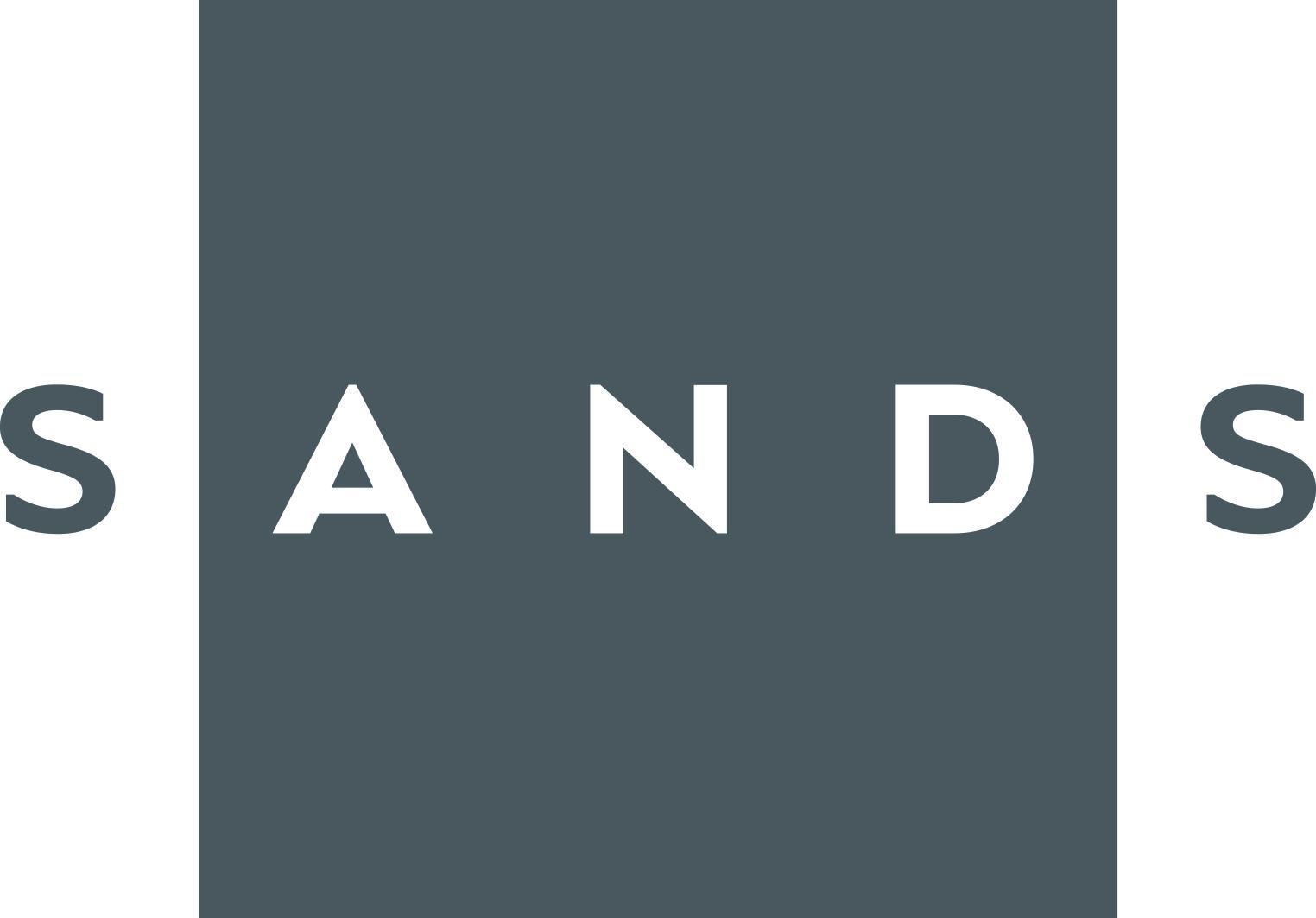 905 SANDS gr%c3%a5logo