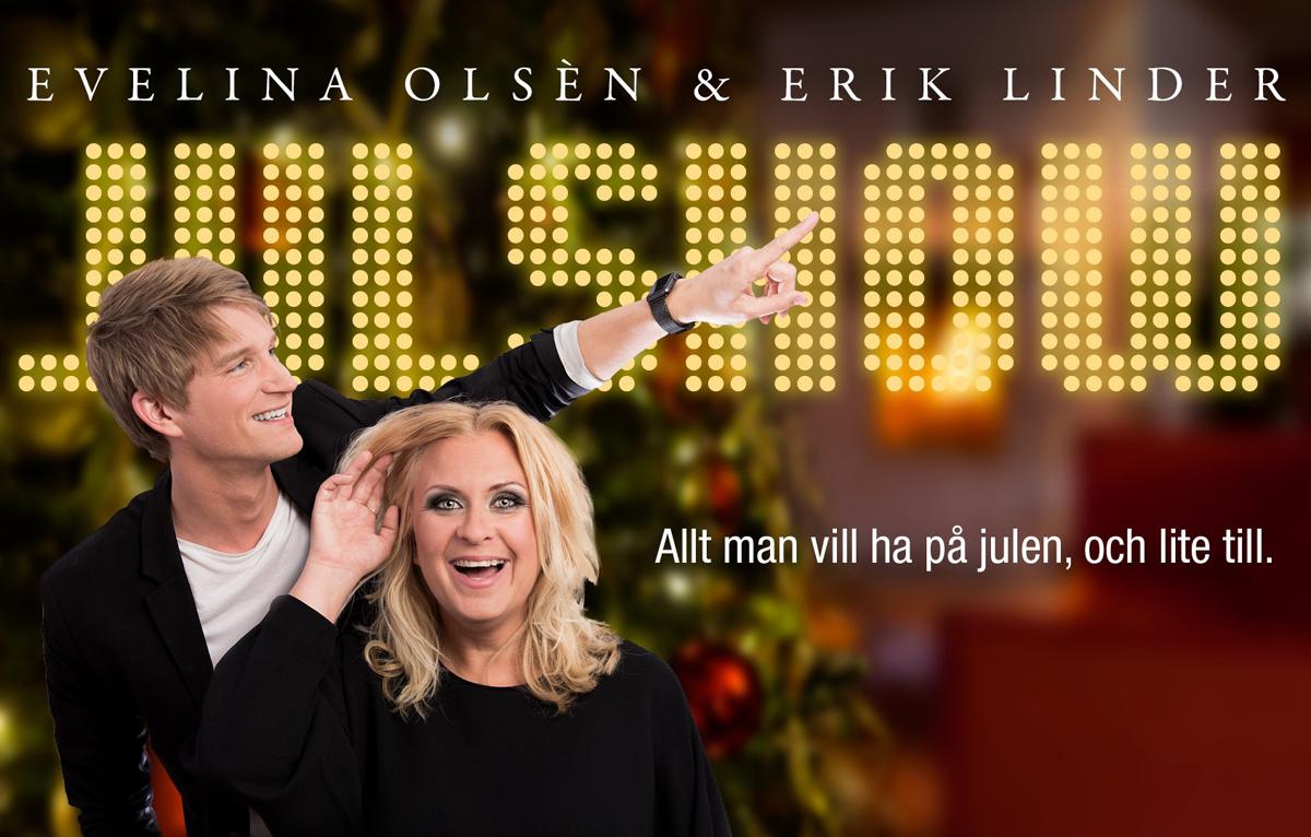 Julshow med Evelina Olsén och Erik Linder