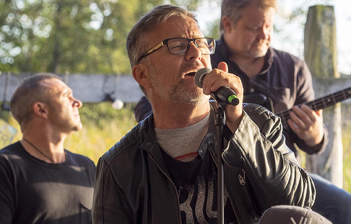 Livemusik i Sjöboden