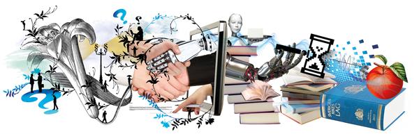 Nya jobb i digitaliseringens spår. Illustration: Team Hawaii
