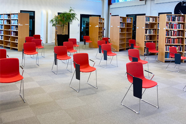 314 library red chairs