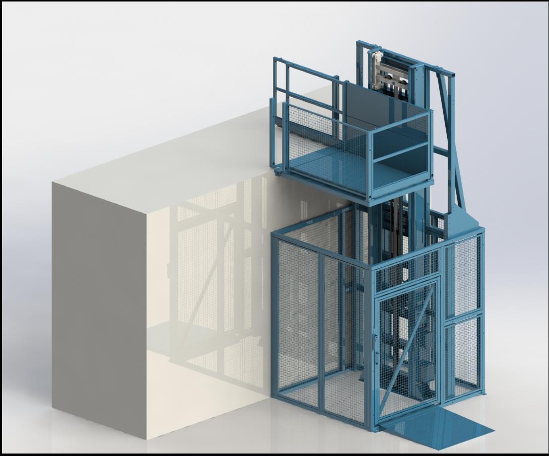 417 MDL I 2G Mast driven lift