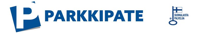 ParkkiPaten logo ja Avainlippu