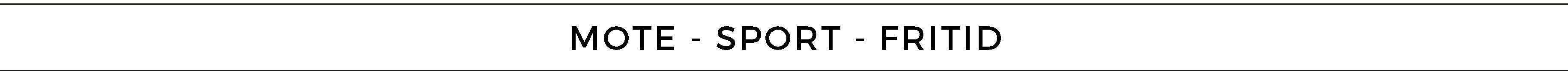Mote - Sport - Fritid