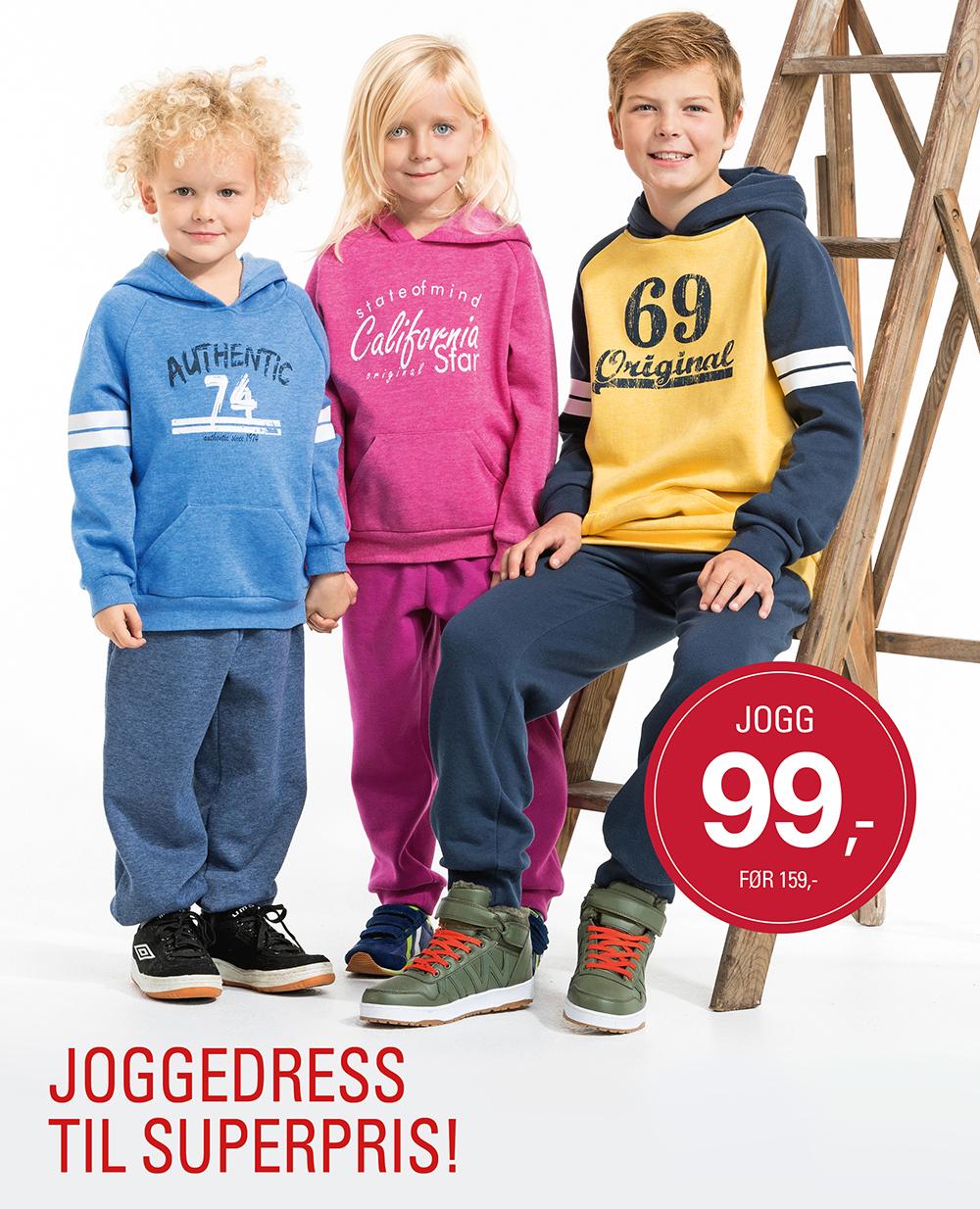 joggedress til superpris