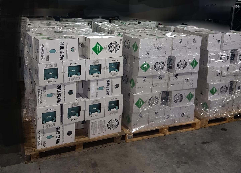 Ulovlig import af kølemidler