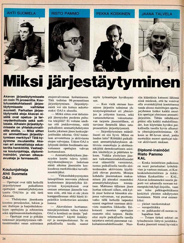 663 Nytti 6 1980 Akava Miksi j%c3%a4rjet%c3%a4ytyminen on t%c3%a4rke%c3%a4%c3%a4 Sivu 1