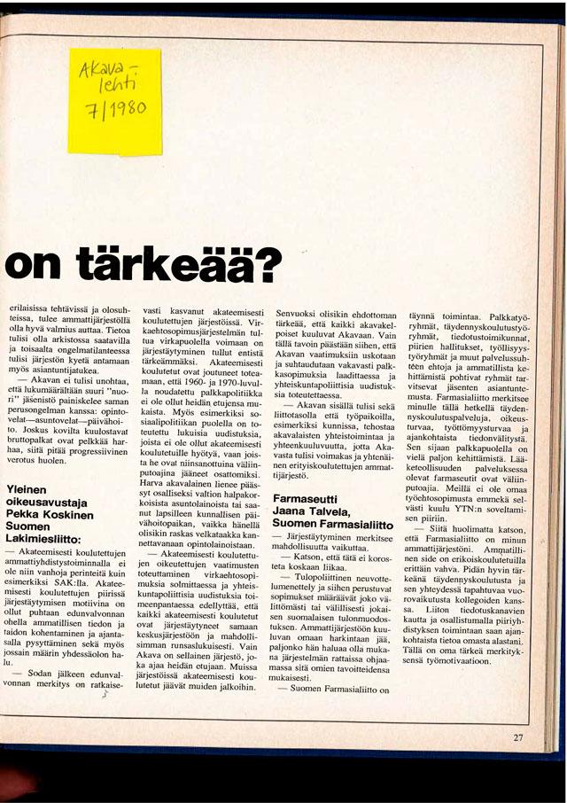 664 Nytti 6 1980 Akava Miksi jarjestaytyminen on tarkeaa Sivu 2