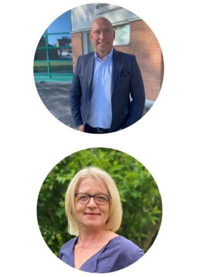 Andreas Anselmius och Karin Grawe