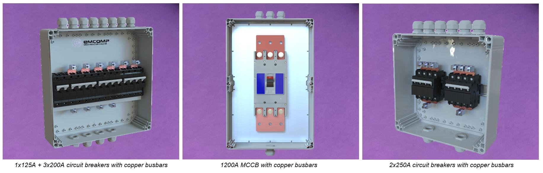 408 collage emcomp battery breaker boxes