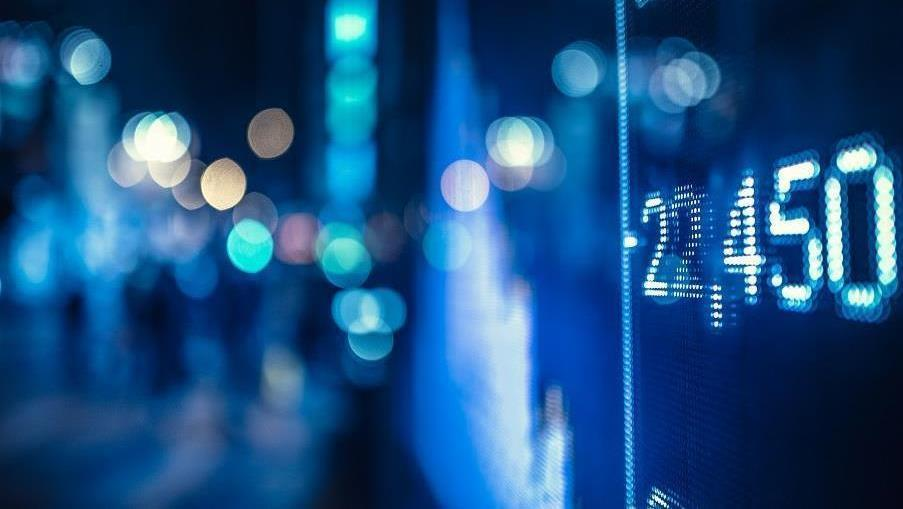 183 display stock market numbers