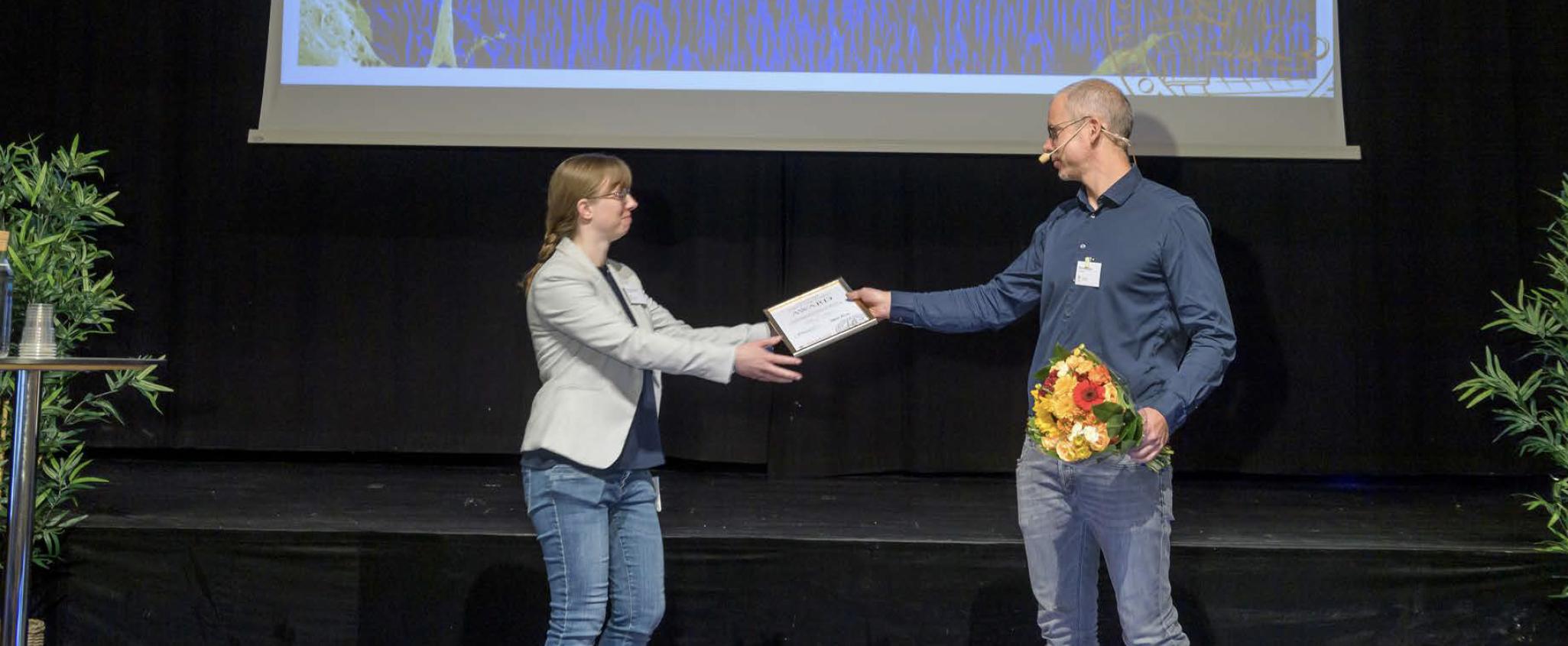Photo of Award Ceremony.