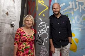 Porträttbild av Ann Jönsson och Ted Bergdahl