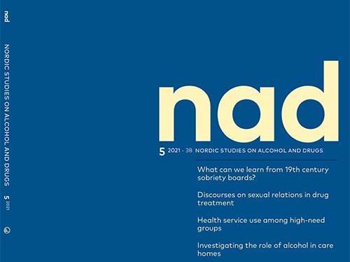 Pärmbild av tidningen NAD.