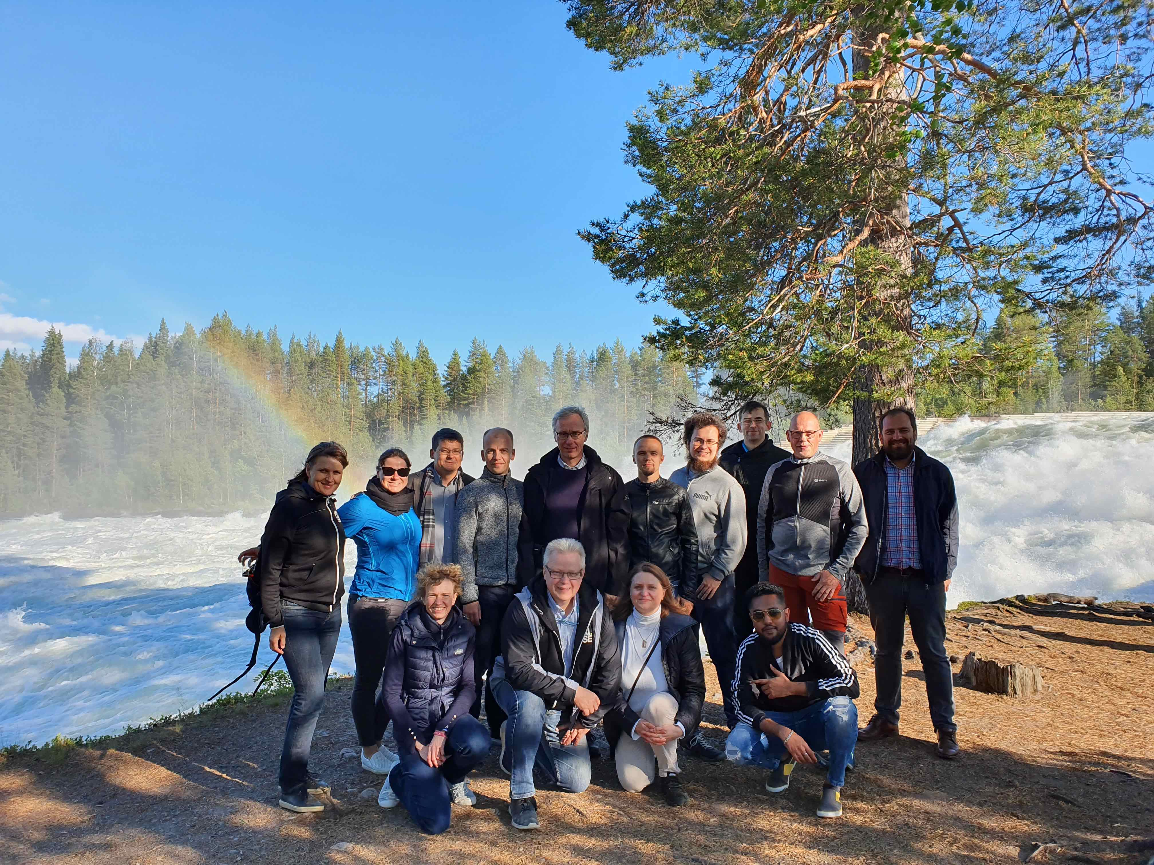 10731 20190627 BalticLSC team at the Great Falls
