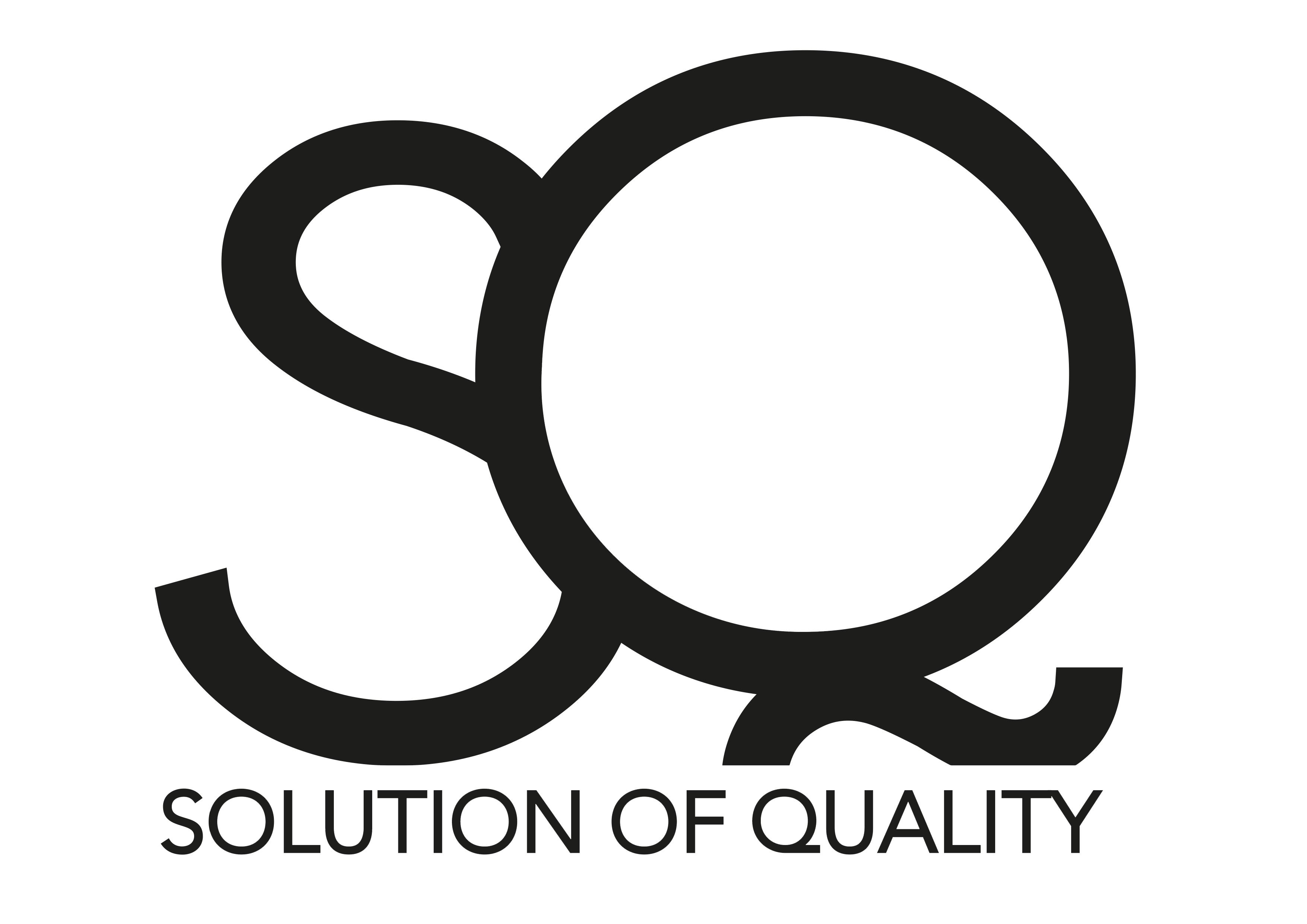 136 S Q logo med namn