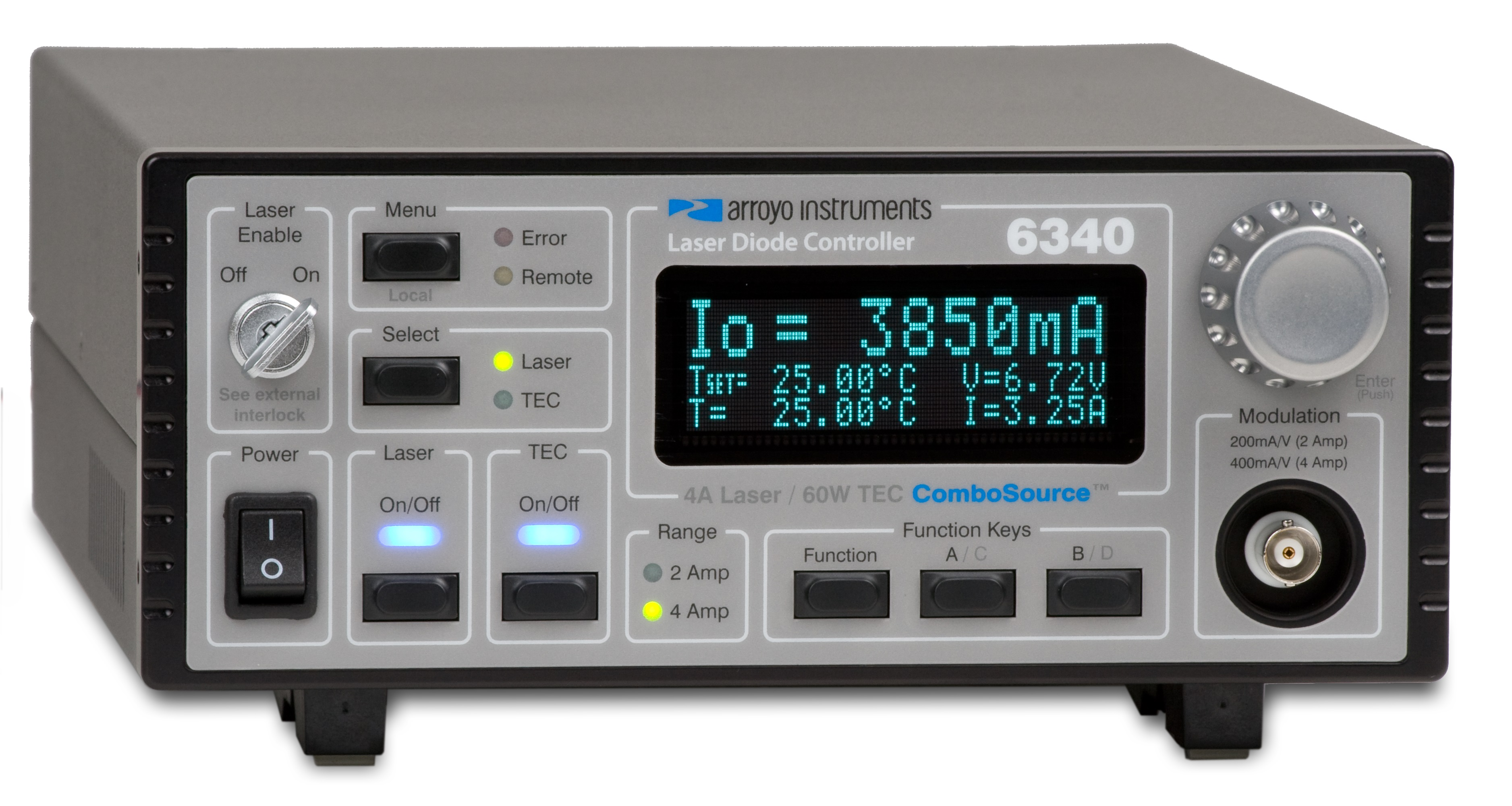 Arroyo 6300 combo Laser Diode Driver and TEC controller