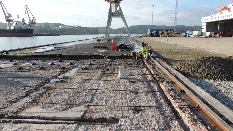 Arbete pågår på Sörvik