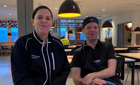 Josefine Rönnqvist och Leif Hasselberg